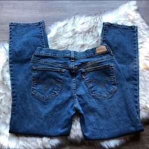 Levi's 505 Jeans Straight Leg size 6 *SHORT* EUC